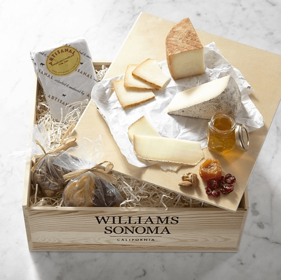 Williams Sonoma Taste of Europe Cheese Gift Crate