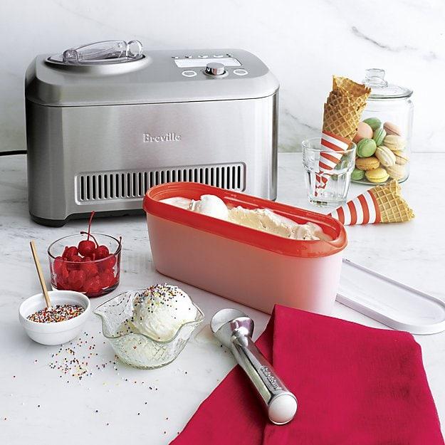 Crate & Barrel - Breville Smart Scoop Ice Cream Maker