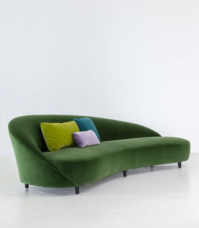 green art deco inspired furniture