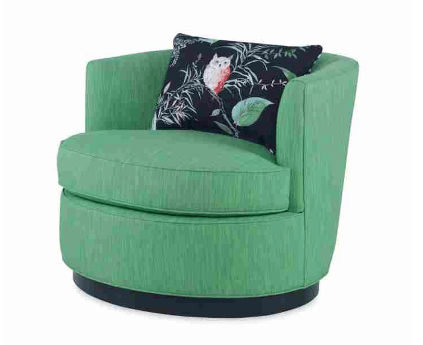 green art deco inspired chair