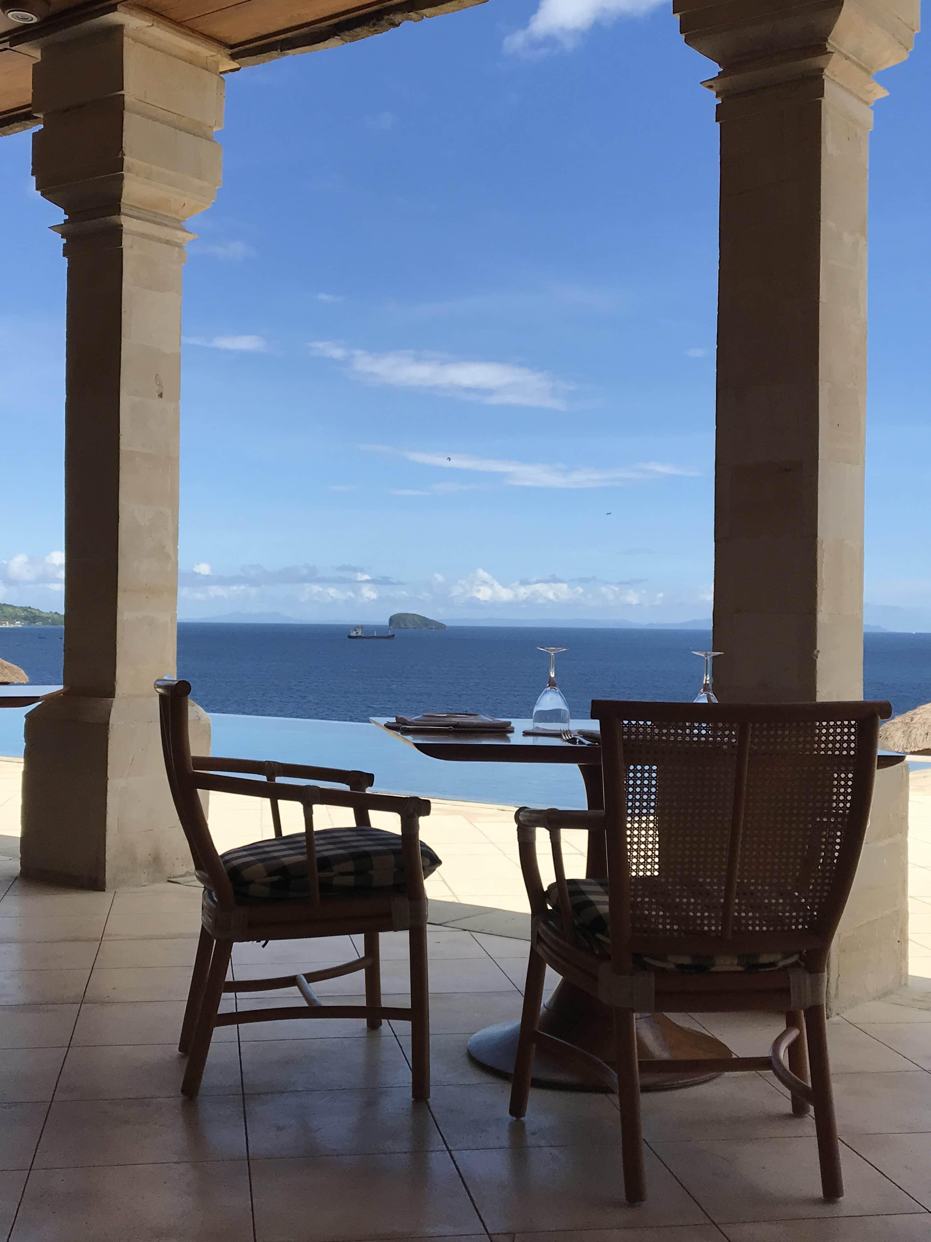 view of ocean, Bali