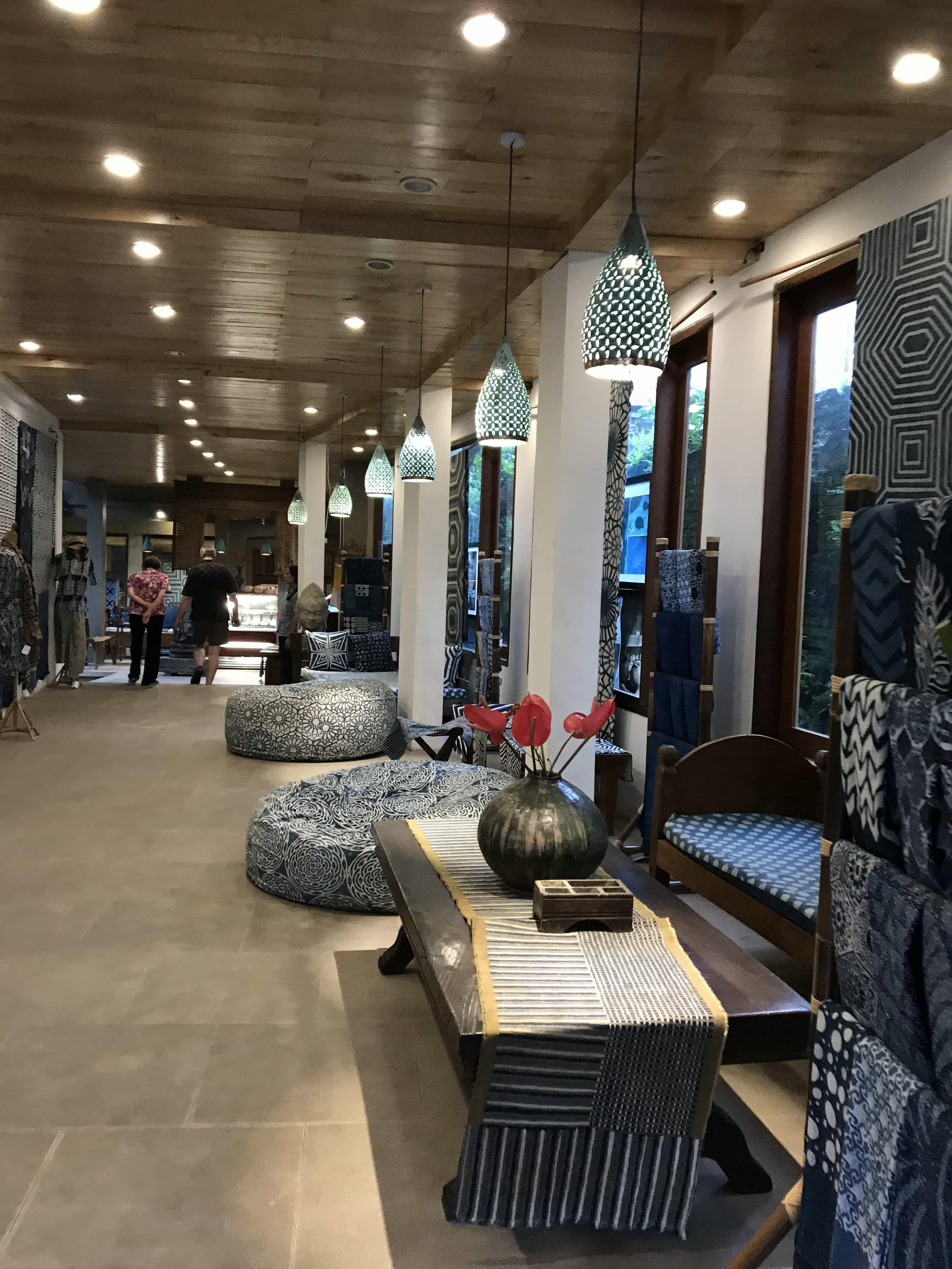Batik shop, Bali