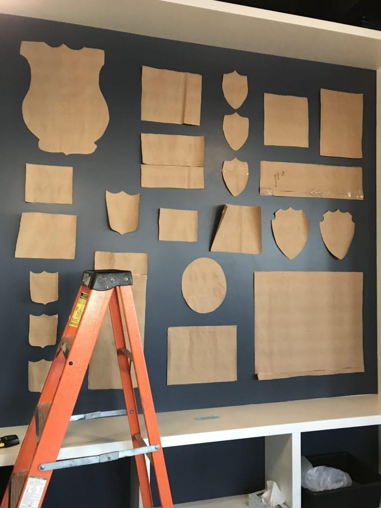 balmy beach club gallery wall