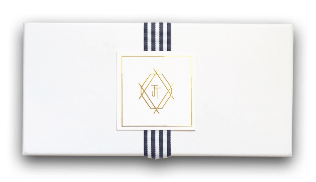 gift box with gift card for a consultation