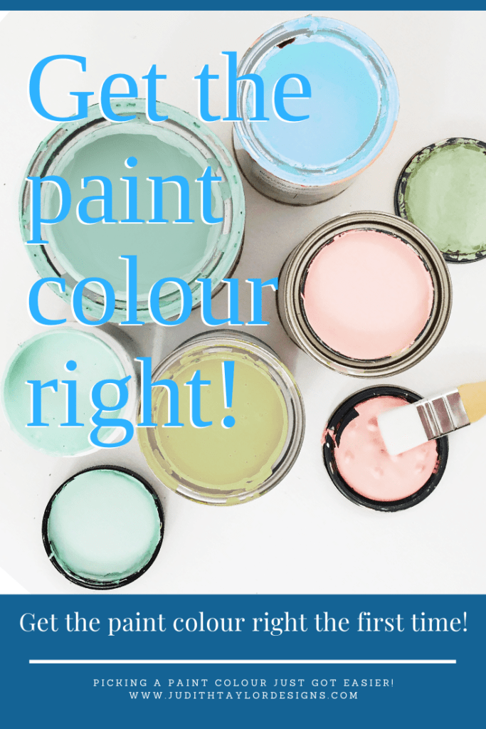 pin this: pick the right paint color