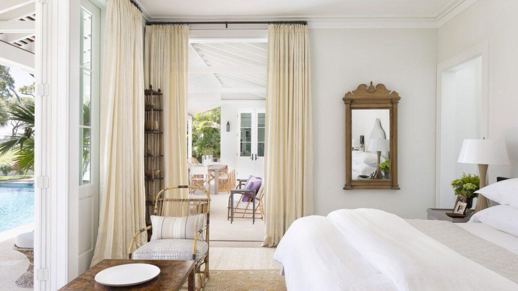 paper white bedroom