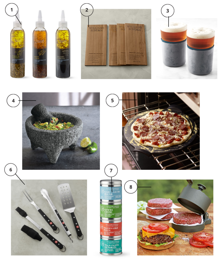 Cotttage gifts for the grilling afficionado