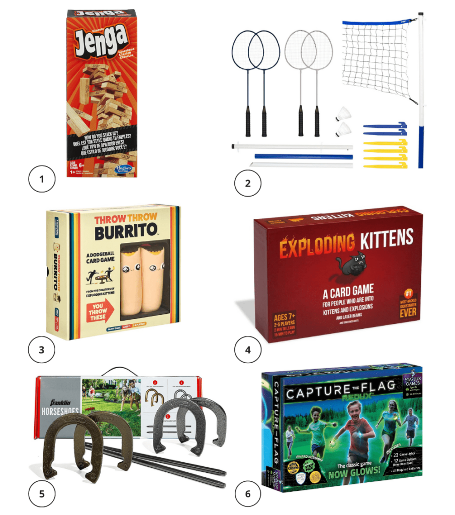 games for cottage goers for a rainy day